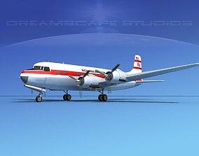 3D Douglas DC-6 Richards Aviation