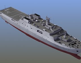 Type071 Amphibious Transport Dock 3D model