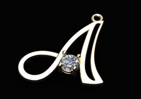 Alphabet Necklace Collection