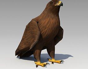 Golden Eagle Animated 3D model