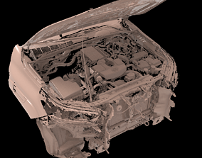 Toyota Hilux AN120 130 MULTIPLE big Native 3D Scan 2020