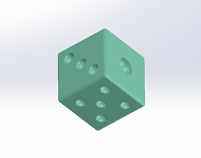gaming dices 3D print model