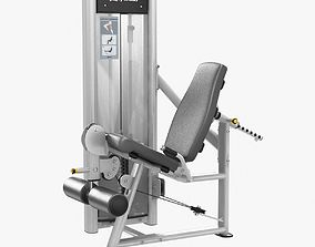 Life Fitness Optima Series Leg Exte 3D