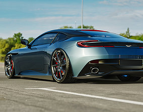 3D model Aston Martin DB11