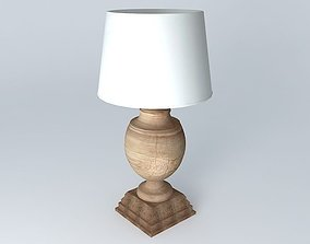 MONTAIGNE Lamp Maisons du monde 3D