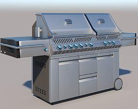 3D Napoleon Prestige PRO 825 Propane Gas Grill