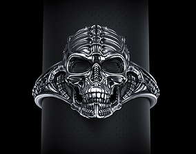 3D printable model Biomechanical Skull Ring Silencer