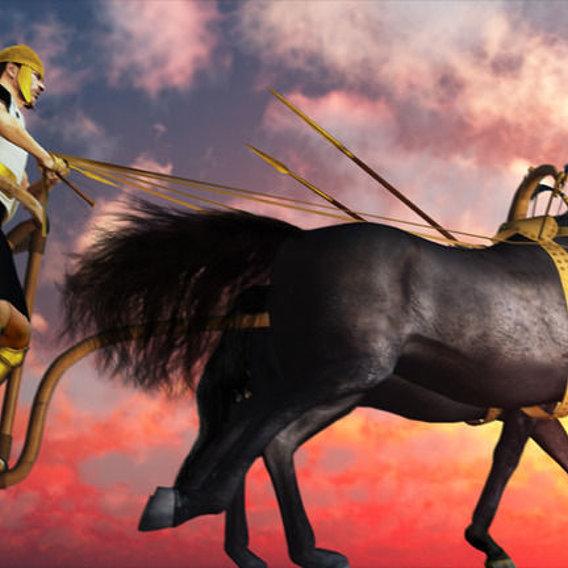 Mycenaean Assault With Rail Chariot
