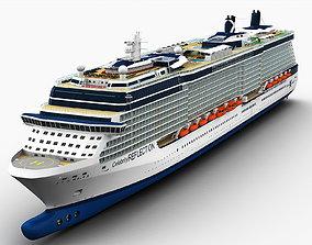 Celebrity Reflection Cruise Ship 3D model