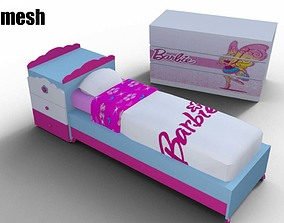 3D model Bedroom barbie