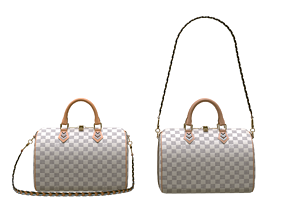 Louis-vuitton-handbag 3D asset