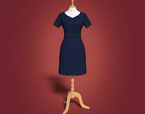 3D asset Mannequin Female - Sewing Dummy