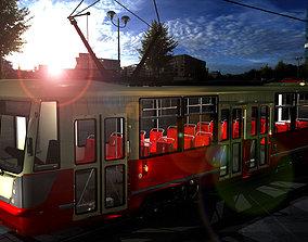 tram105NA fbx 3D asset