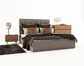 BoConcept Mezzo Bed 3D model