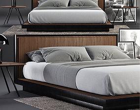 3D Envy Queen Bed SET