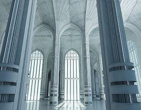 3D Classic Interior Scene