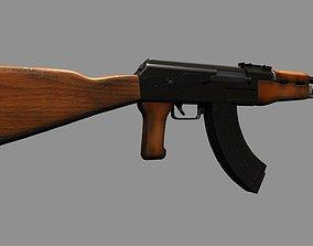 Ak-47 Full Automatic Machine Gun 3D
