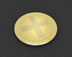 Cross Medallion 3D print model badges