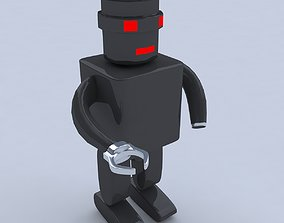 universal robots 3d model game-ready