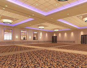 3D Hotel Ballroom