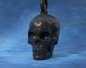 Printable skull pendant