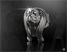Egyptian god Horus 3D print model
