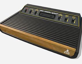 PBR Atari 2600 3D asset