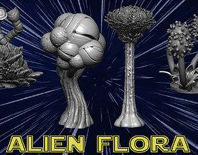 botanic Alien flora 3D printable model