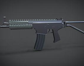 3D asset RPS YONG-YUTH 52 carbine