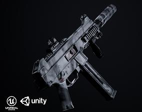 3D model UMP 45 PBR