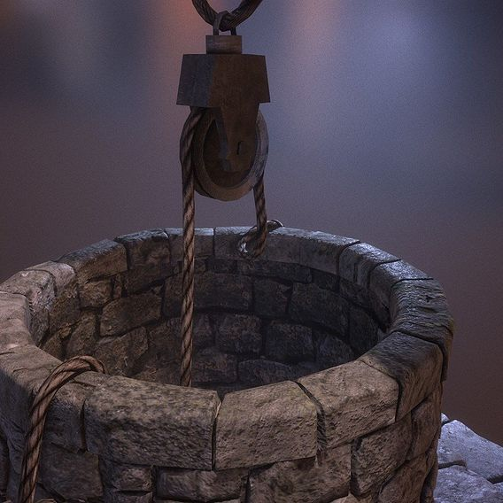 PBR - Ancient Well Base