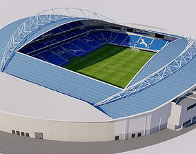3D model American Express Community Stadium - Brighton and