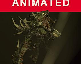 3D model Demon dragon