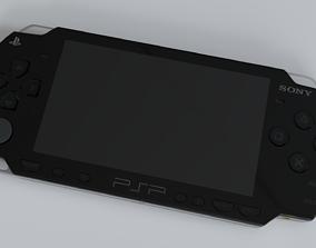 3D Sony PSP 2002 realistic model