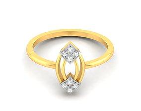 Women bride band ring 3dm render detail gold