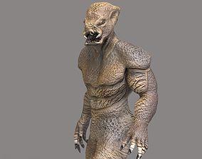 Monster 3 3D asset animated