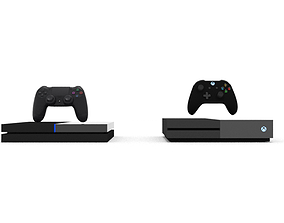 3D Xbox Two and PS5 - Concept Arts
