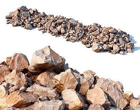 Stone Beach 3D model