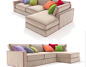 LONG ISLAND CORNER COMPOSITION Sofa ROCHE BOBOIS 3D model