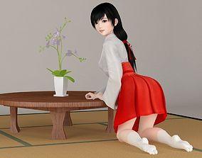 3D Terumi various outfit pose 02