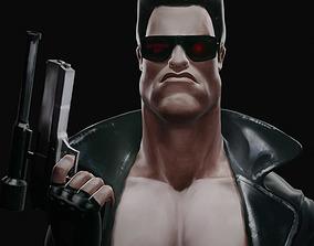 3D model Terminator T-799