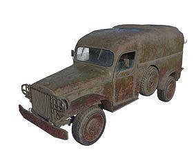 3D Abandoned pickup 03