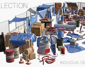 Construction Site Collection 3D