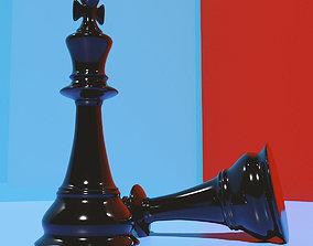 3D asset Chess King