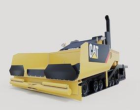 heavy 3D model caterpillar