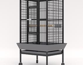 3D model Parrot Bird Cage - Corona - Vray canary