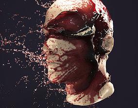 Splash Head 4 3D model