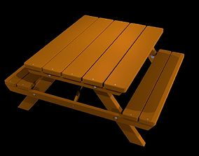 models 3D model Picnic Table