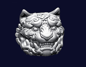 3D printable model Tiger Head Ornamental