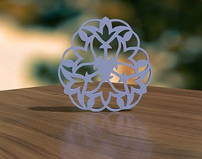 flakes Christmas Snowflake 3D print model